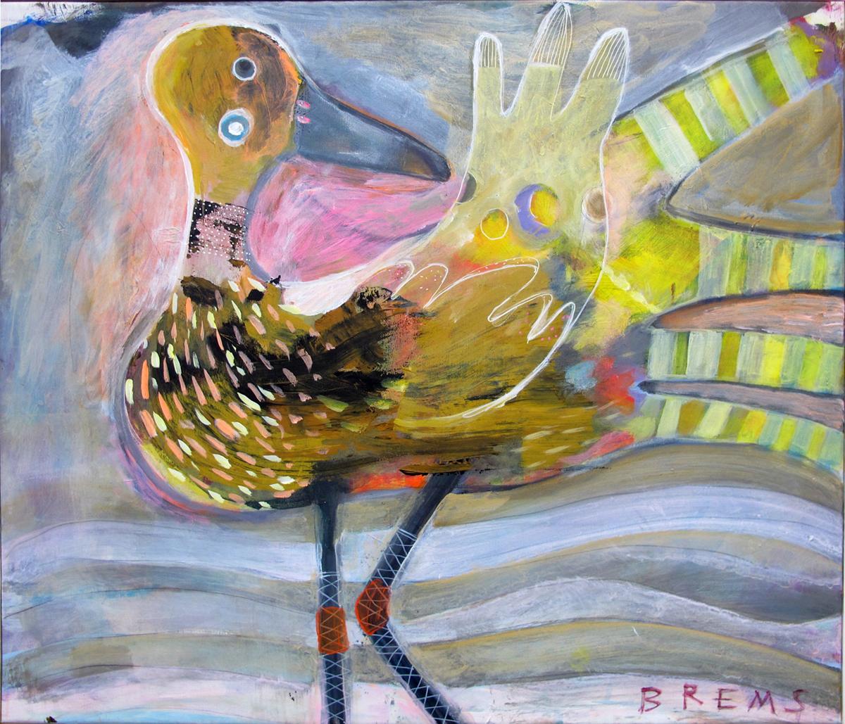 Fællesmaleri af Verner Brems og Lotte Overgaard